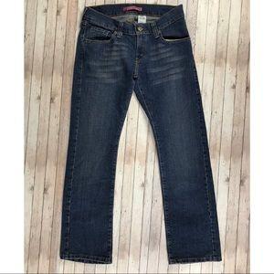 Levi's Slouch Straight 504 jeans juniors 9 short